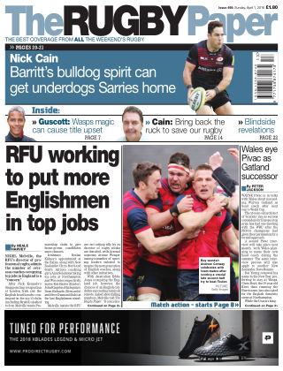 The Rugby Paper 1st April 2018