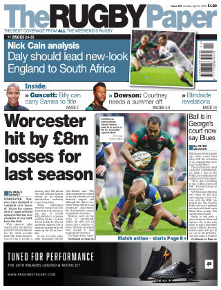 The Rugby Paper 8th April 2018