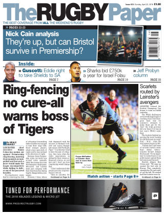 The Rugby Paper 22nd April 2018