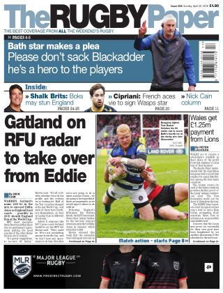 The Rugby Paper 29th April 2018