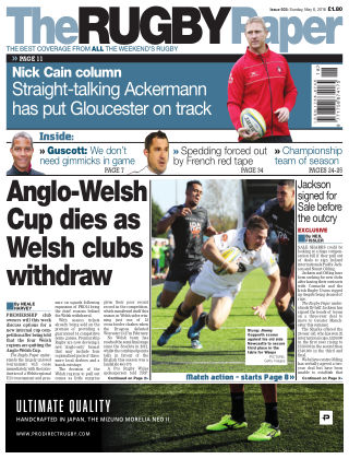 The Rugby Paper 6th May 2018