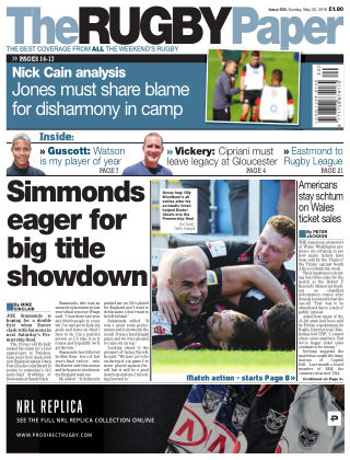 The Rugby Paper 20th May 2018