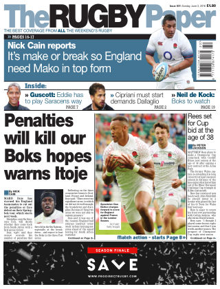 The Rugby Paper 3rd June 2018