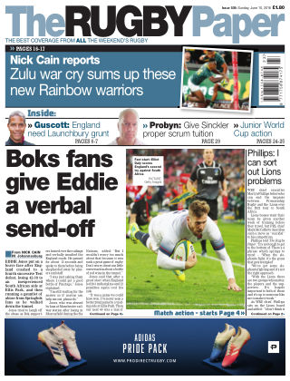 The Rugby Paper 10th June 2018