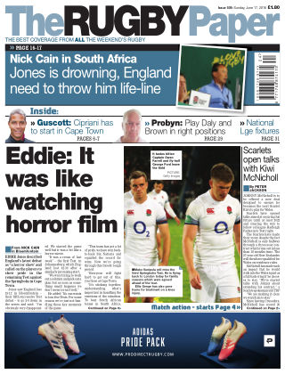 The Rugby Paper 17th June 2018