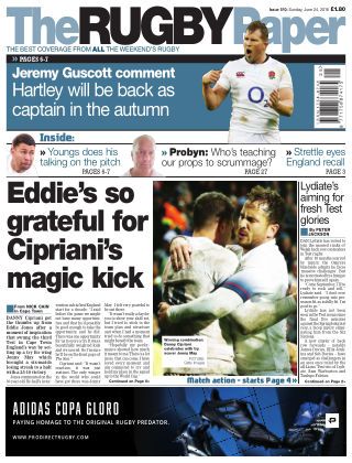 The Rugby Paper 24th June 2018