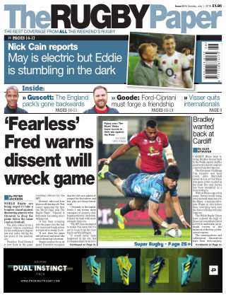 The Rugby Paper 1st July 2018