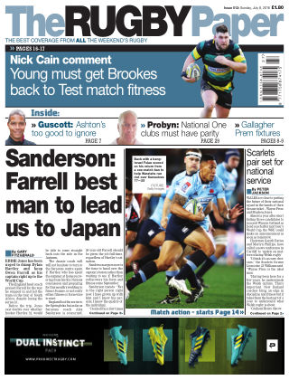 The Rugby Paper 8th July 2018