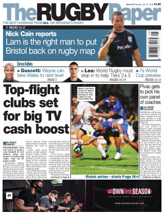 The Rugby Paper 15th July 2018