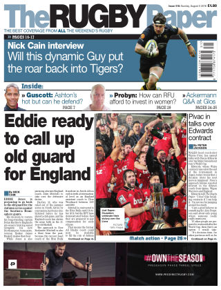 The Rugby Paper 5th August 2018