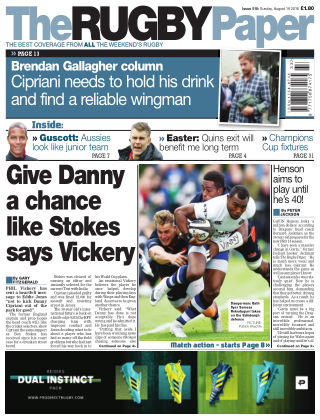 The Rugby Paper 19th August 2018