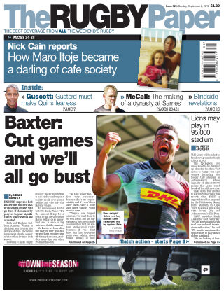 The Rugby Paper 2nd September 2018