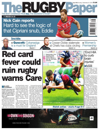 The Rugby Paper 23rd September 2018