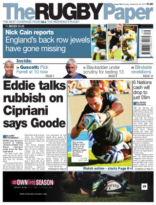 The Rugby Paper 30th September 2018