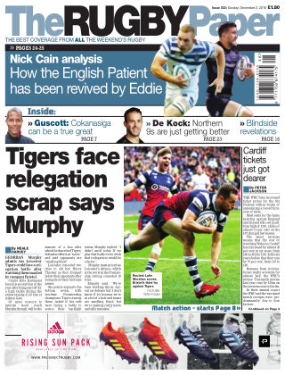The Rugby Paper 2nd December 2018
