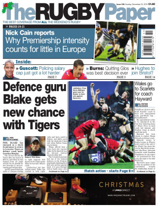 The Rugby Paper 23rd December 2018