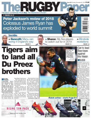 The Rugby Paper 30th December 2018