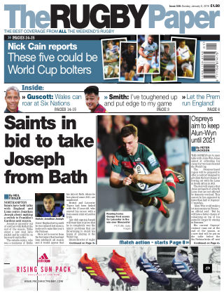 The Rugby Paper 6th January 2019