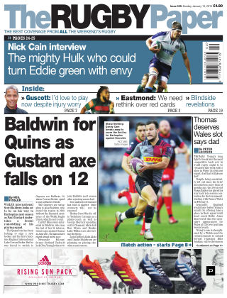 The Rugby Paper 13th January 2019