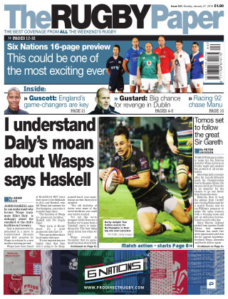 The Rugby Paper 27th January 2019