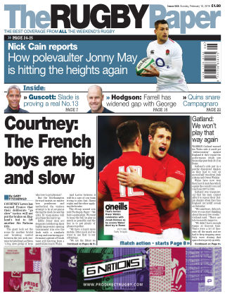 The Rugby Paper 10th February 2019