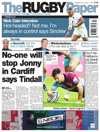 The Rugby Paper 17th February 2019