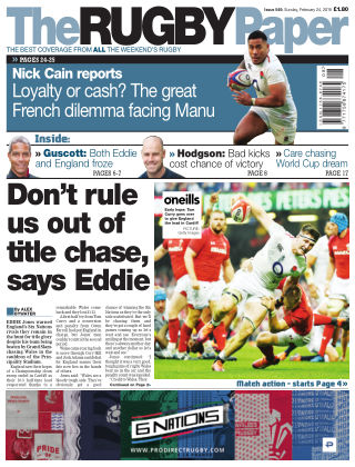 The Rugby Paper 24th February 2019