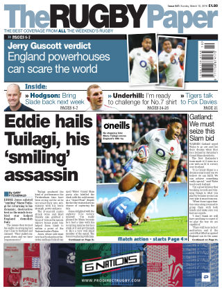 The Rugby Paper 10th March 2019