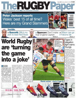 The Rugby Paper 24th March 2019