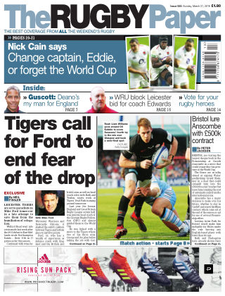 The Rugby Paper 31st March 2019