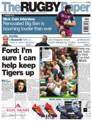 The Rugby Paper 7th April 2019