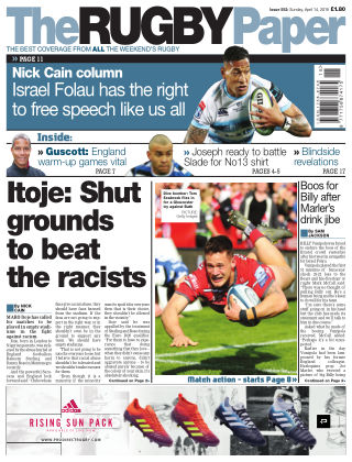 The Rugby Paper 14th April 2019