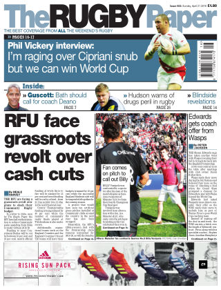 The Rugby Paper 21st April 2019