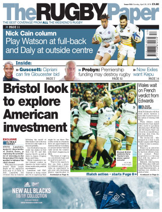The Rugby Paper 28th April 2019