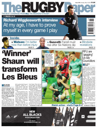 The Rugby Paper 5th May 2019