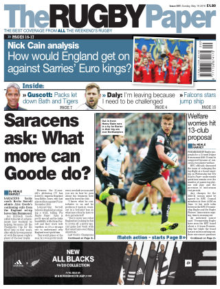 The Rugby Paper 19th May 2019
