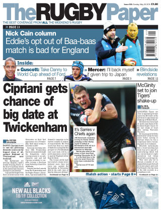 The Rugby Paper 26th May 2019
