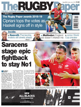 The Rugby Paper 2nd June 2019