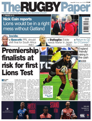 The Rugby Paper 16th June 2019