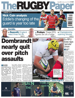 The Rugby Paper 23rd June 2019