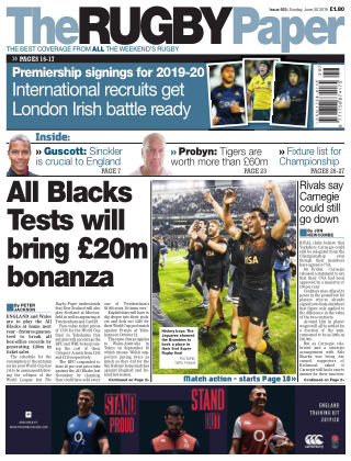 The Rugby Paper 30th June 2019