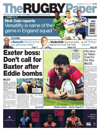 The Rugby Paper 7th July 2019
