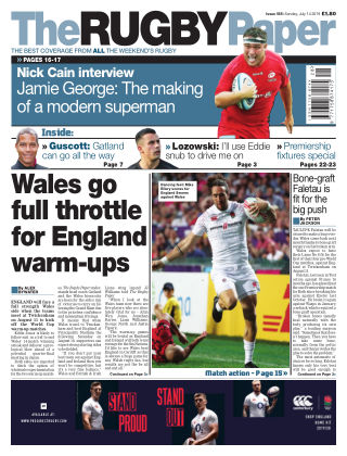 The Rugby Paper 14th July 2019