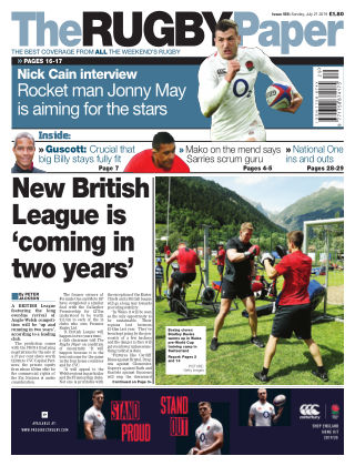 The Rugby Paper 21st July 2019