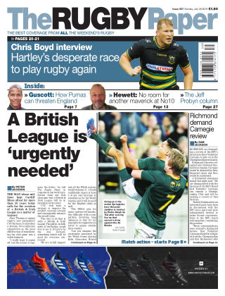The Rugby Paper 28th July 2019