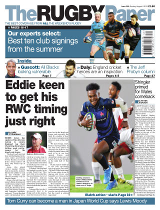 The Rugby Paper 4th August 2019