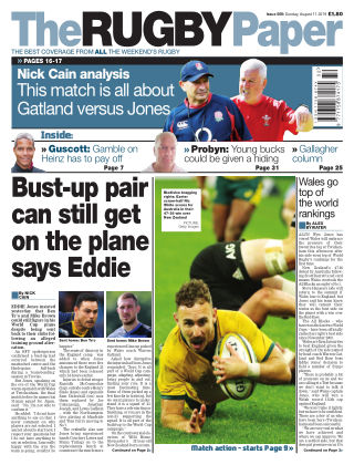 The Rugby Paper 11th August 2019