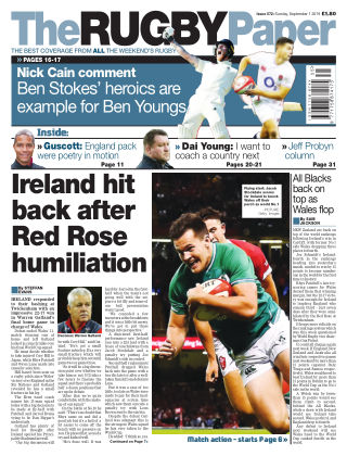 The Rugby Paper 1st September 2019