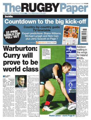 The Rugby Paper 15th September 2019