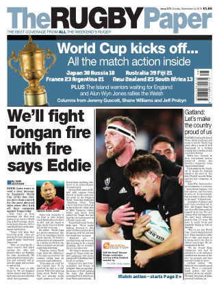 The Rugby Paper 22nd September 2019
